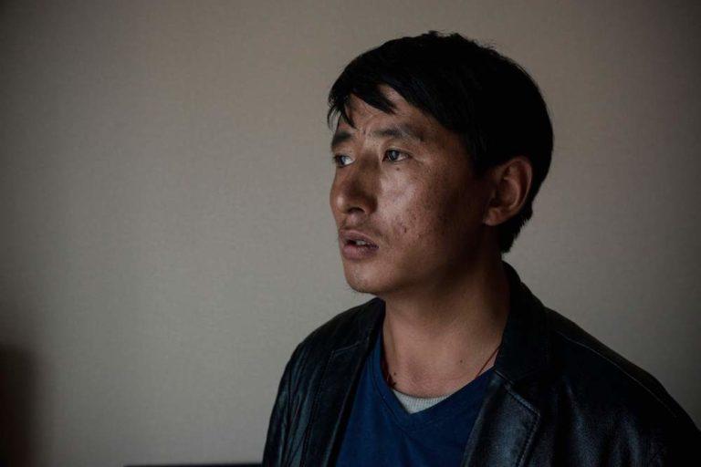 Detained Tibetan language rights advocate and prisoner of conscience, Tashi Wangchuk.