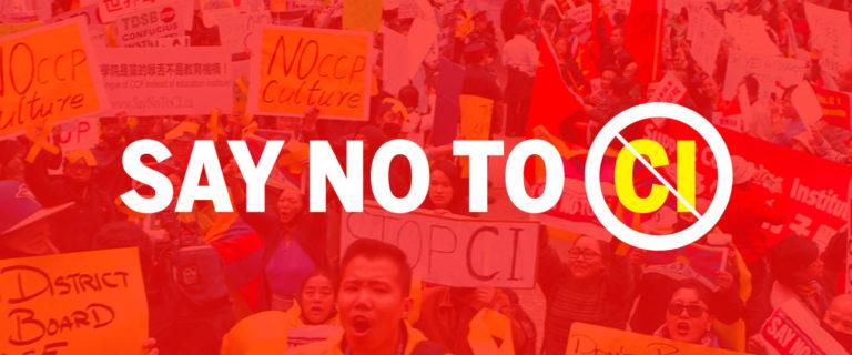 Say No to Confucius Institutes