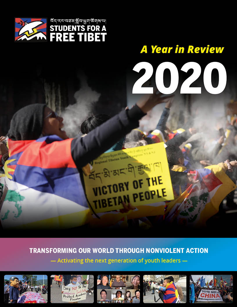 The cover of our 2020 Year in Review